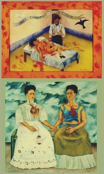 Armario Embutido Quarto ~ Obras de Frida Kahlo